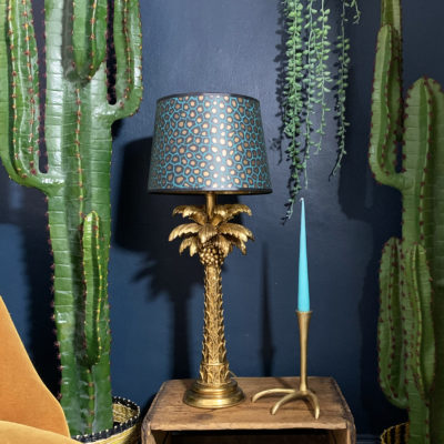 SENZO SPOT FRENCH DRUM LAMPSHADE