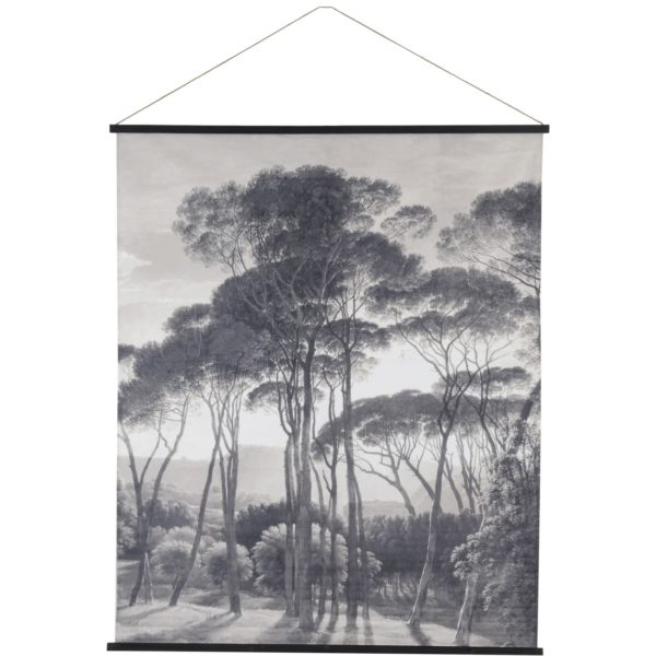 Monochrome Forest Wallhanging