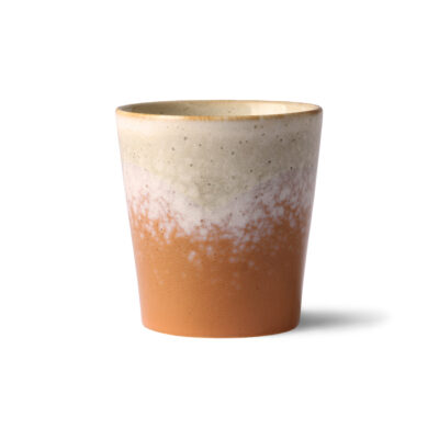 70's Ceramic Inspired Cup - Jupiter