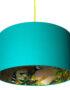 rose gold lemur lampshade jade