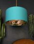 love Frankie rose gold lemur lampshade in jade