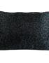 Dark Green Leopard Print Bolster Cushion