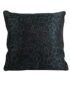 Dark Green Leopard Print Cushion