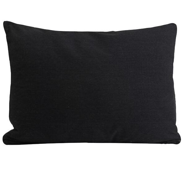 Light Brown Leopard Print Bolster Cushion Back