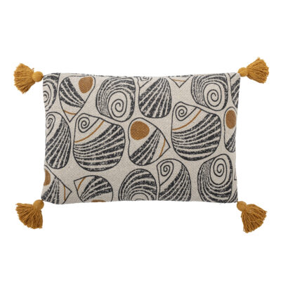 Oatmeal Abstract Recycled Cotton Cushion