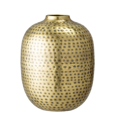 Tall Brass Metal Vase