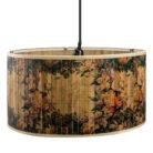 Floral Bamboo Lampshade