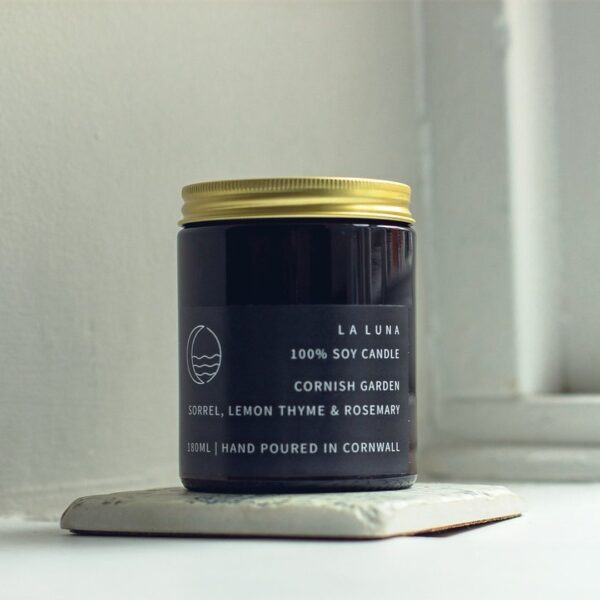 Sorrel Lemon Thyme and Rosemary Candle