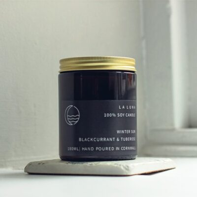 Winter Blackcurrant and Tuberose Candle