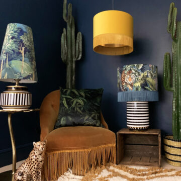 Love Frankie Handmade Lampshade Collection