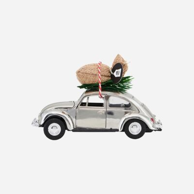 love-frankie-silver-car-christmas-decoration