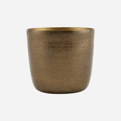 love-frankie-small-antique-brass-planter