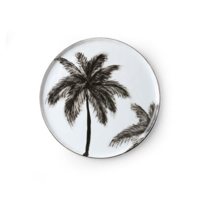 Palm Trees Side Plate