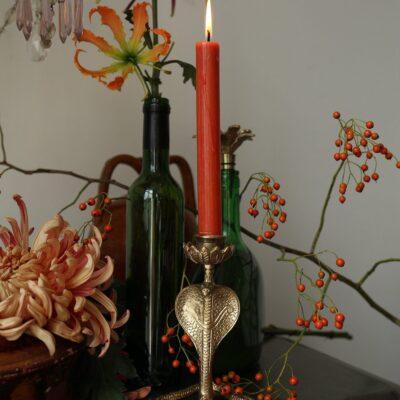 love-frankie-antique-gold-serpant-snake-candleholder