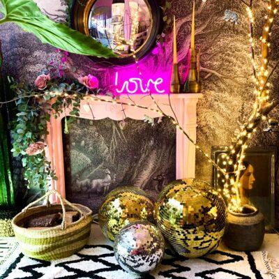 love-frankie-gold-disco-ball