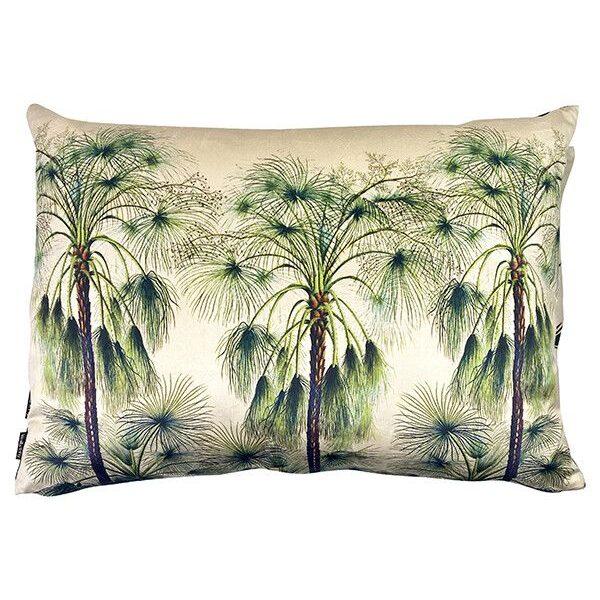 love-frankie-green-palms-cushion
