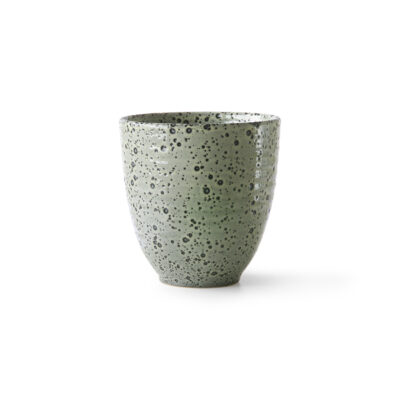 Green Speckled Mug