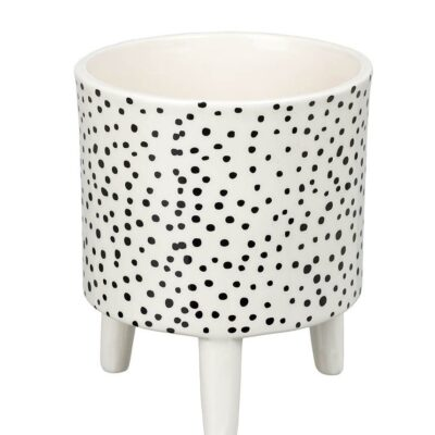 love-frankie-large-monochrome-spotty-planter