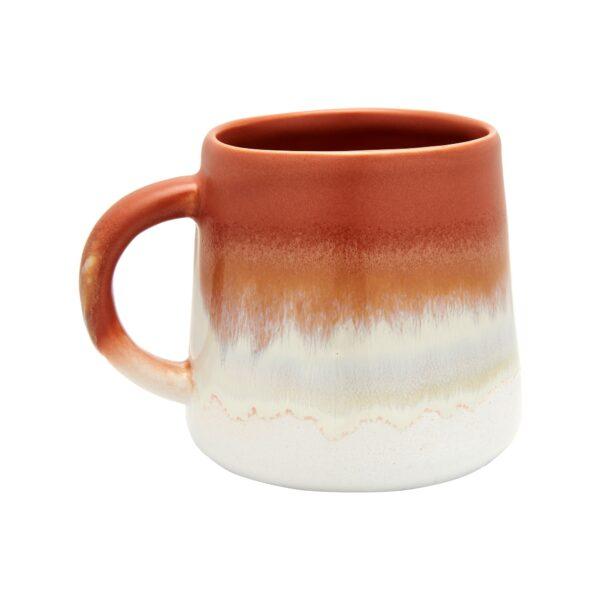 Orange Glazed Mug