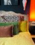 love Frankie velvet cushions