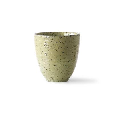Yellow Speckled Mug
