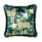 love-frankie-flora-leopard-fringe-cushion