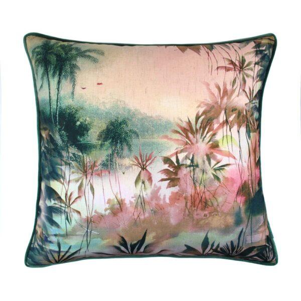 love-frankie-paradise-cushion-blush-and-teal