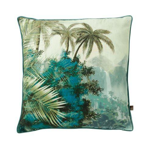 love-frankie-paradise-cushion-green
