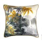 love-frankie-paradise-cushion-grey-and-ochre