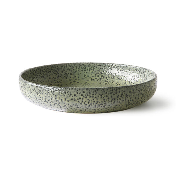 love-frankie-speckled-green-dining-plate