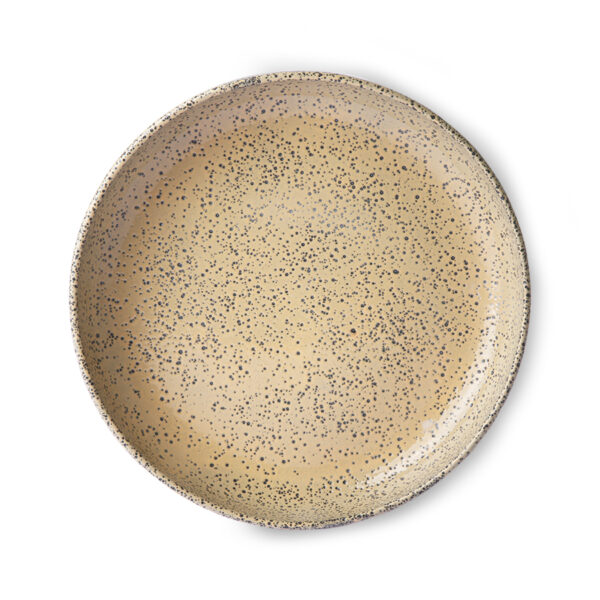 love-frankie-speckled-peach-dining-plate