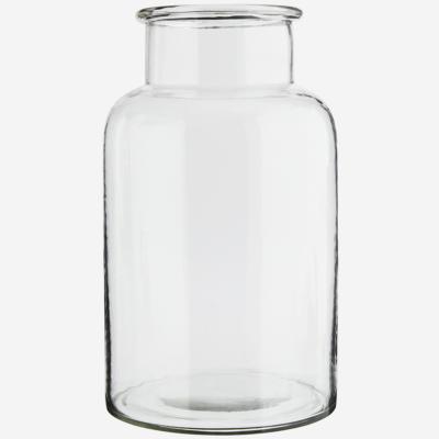 love-frankie-clear-glass-jar-tall