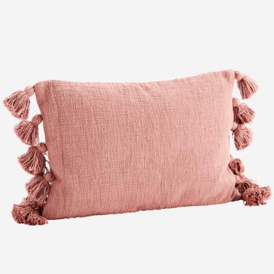 love-frankie-dusky-pink-tasselled-cotton-cushion