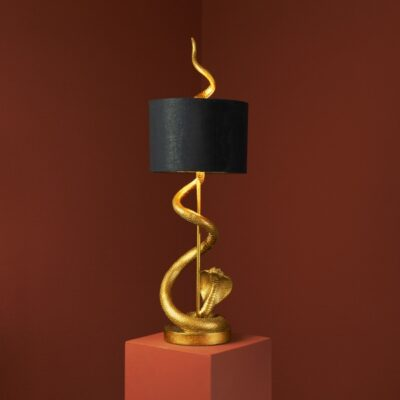 love-frankie-golden-cobra-lamp