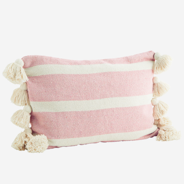 love-frankie-pastel-pink-striped-cushion-with-tassels