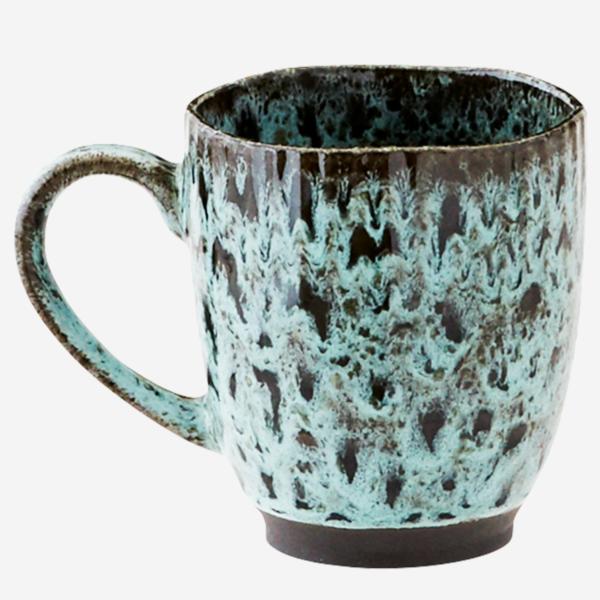love-frankie-turquoise-stoneware-mug
