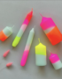 Statement Neon Dipped candles