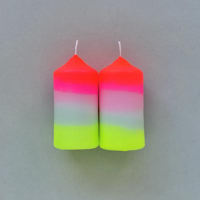 love-frankie-medium-pillar-candle-set-in-pink