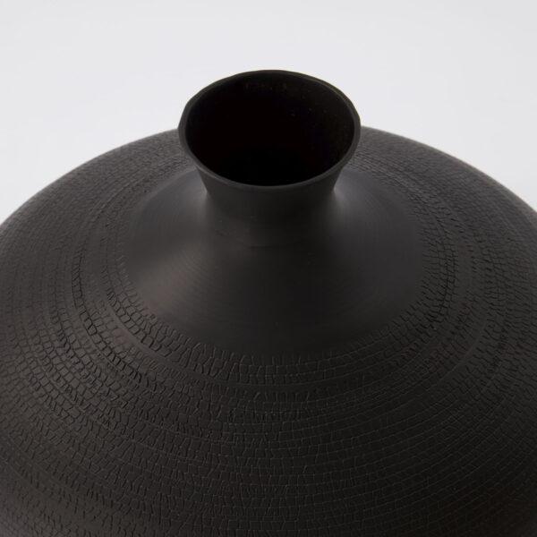 love-frankie-antique-brown-textured-vase-in-large