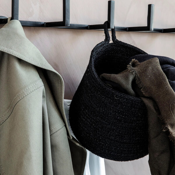 love-frankie-woven-hanging-basket-in-black