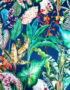 Handmade By Love Frankie Tropical Leaf Magic Fruits Lampshade