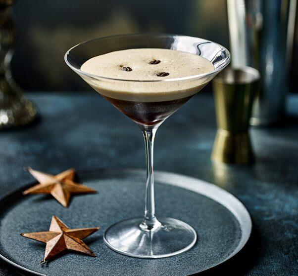 Helen's Twist on the Classic Espresso Martini