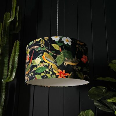 Shadow Crawler Bird inspired Lampshade