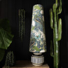 Mythical Plumes Peacock Oversized Cone Lampshades