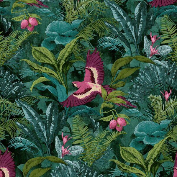 Bird Of Paradise Tropical Jungle Wallpaper