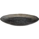 Gothic Glam Black Stoneware Plate