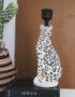 Leopard Candlestick