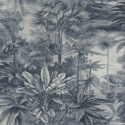 Indigo rainforest wallpaper