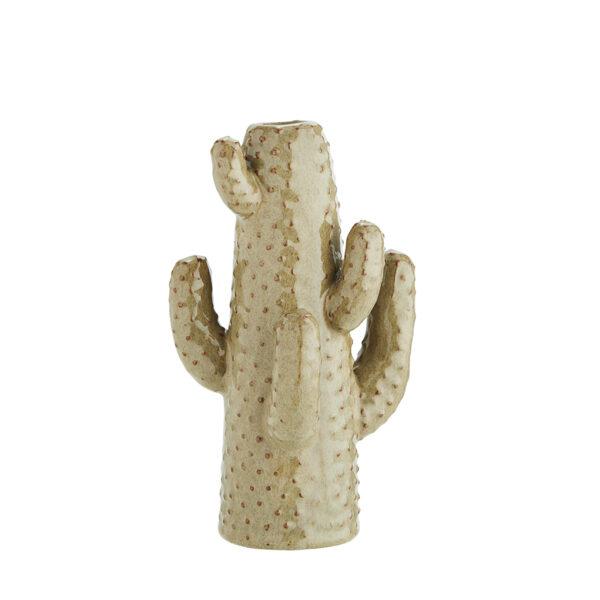 Olive Cactus Vase