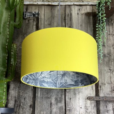 Love Frankie Silhouette Lampshade Rainforest and Banana